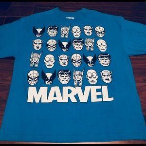 Retro Graphic Marvel Avengers XL T-Shirt
